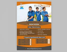 nº 41 pour Design an a5 flyer for a cleaning business par Forhad95s