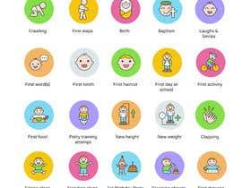 nº 11 pour Design Icons for Baby/Child themed application par lpfacun