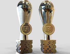 nº 33 pour Design a 3D Trophy, Mockups entries aren't acceptable par jackevo