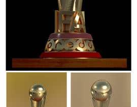 nº 51 pour Design a 3D Trophy, Mockups entries aren't acceptable par mkadr