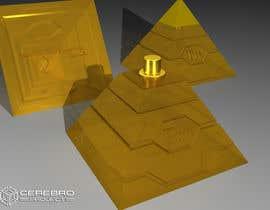 nº 19 pour Design a Pyramid themed cologne bottle par flashknight33