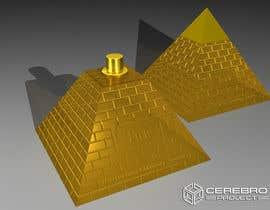 nº 24 pour Design a Pyramid themed cologne bottle par flashknight33
