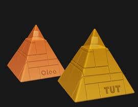 nº 52 pour Design a Pyramid themed cologne bottle par ZahaSolution