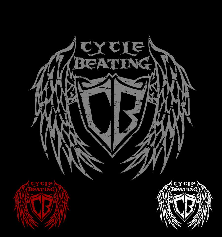 Penyertaan Peraduan #142 untuk Logo Design for heavy metal band CYCLE BEATING