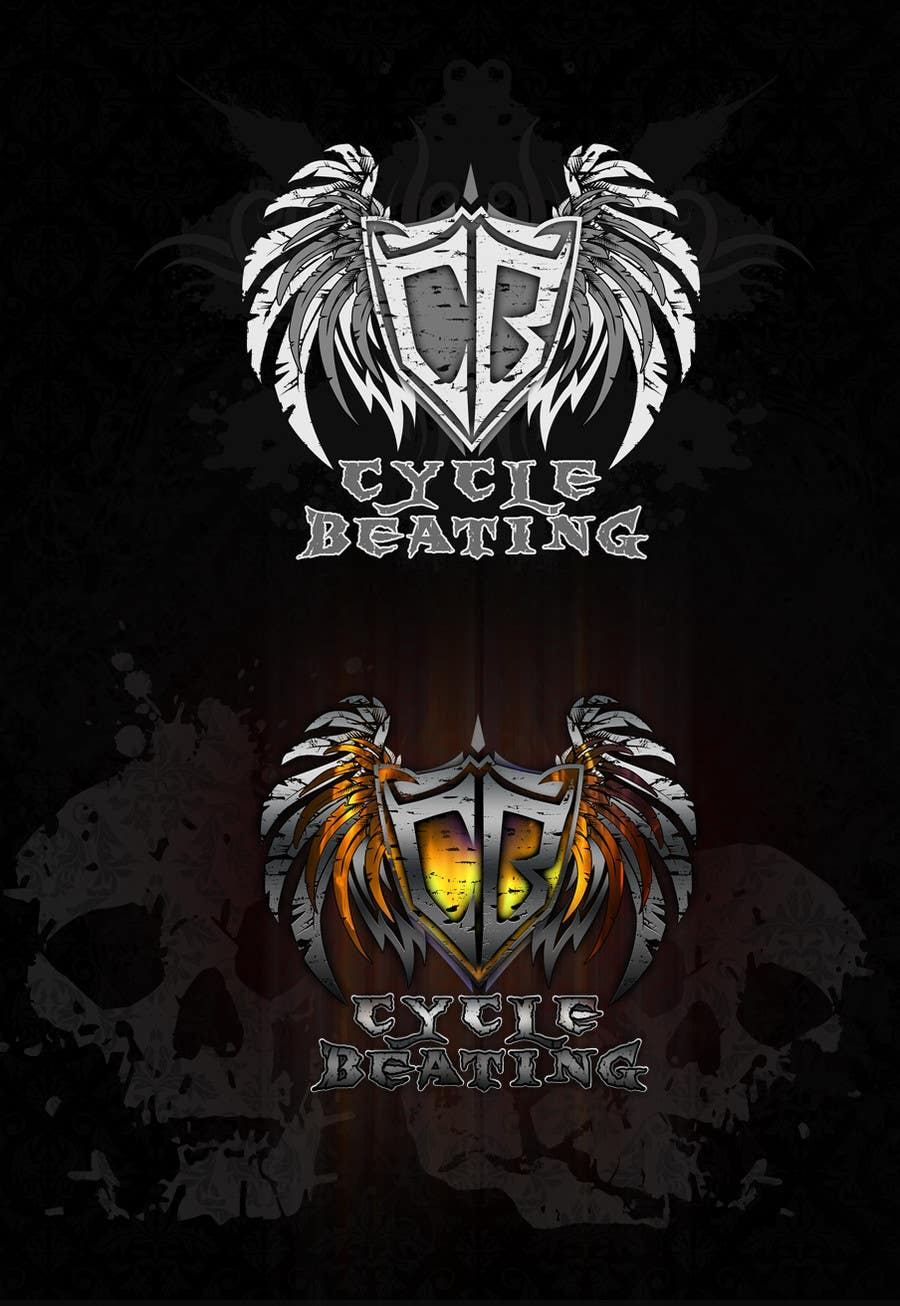 Contest Entry #81 for Logo Design for heavy metal band CYCLE BEATING