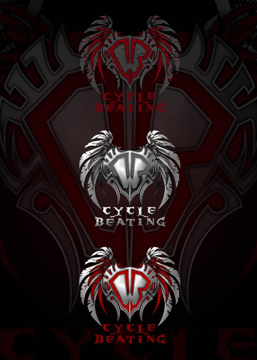 Penyertaan Peraduan #116 untuk Logo Design for heavy metal band CYCLE BEATING