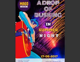 #134 for webposter for busking fest by EchoDesigns