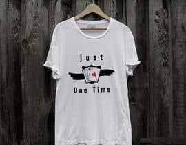 nº 109 pour Just One Time poker t-shirt par Sakib659