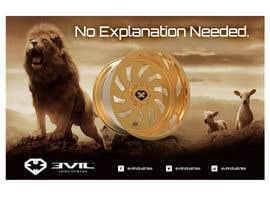 nº 32 pour Design an Advertisement For Luxury Wheel (Rims) par b74design