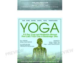 nº 122 pour Yoga Flyer par FirstCreative