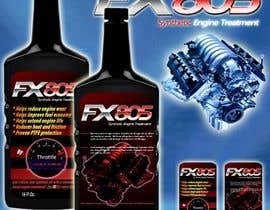 #11 for Print & Packaging Design for Throttle Muscle FX805 by escadrill
