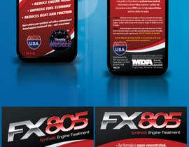 nº 1 pour Print & Packaging Design for Throttle Muscle FX805 par csoxa