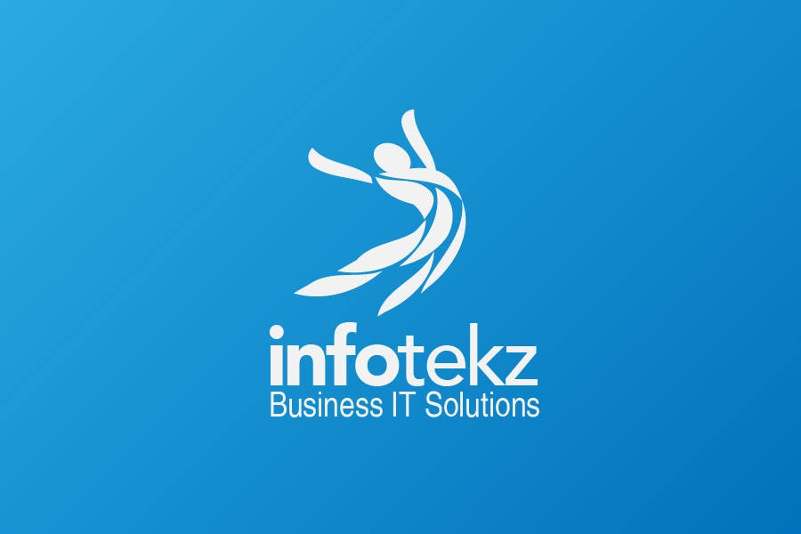 Logo Design Contest Entry #29 for Logo Design for INFOTEKZ  (Please Try 3D Logo/Font) : Please see attached vector image