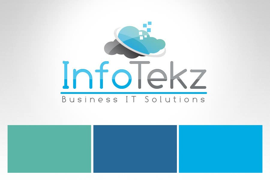 #305 for Logo Design for INFOTEKZ  (Please Try 3D Logo/Font) : Please see attached vector image by RamonDNC