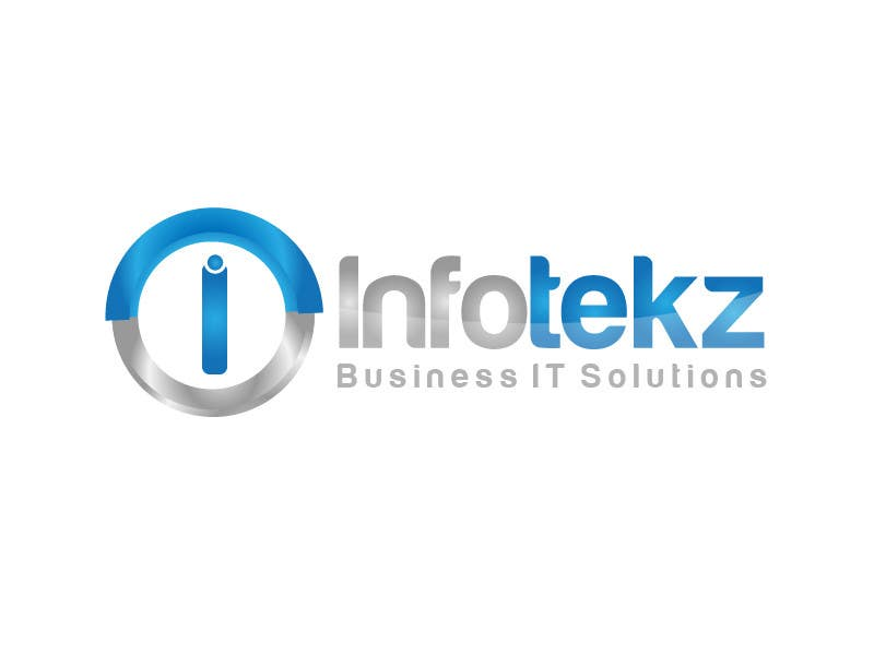#282 for Logo Design for INFOTEKZ  (Please Try 3D Logo/Font) : Please see attached vector image by rraja14