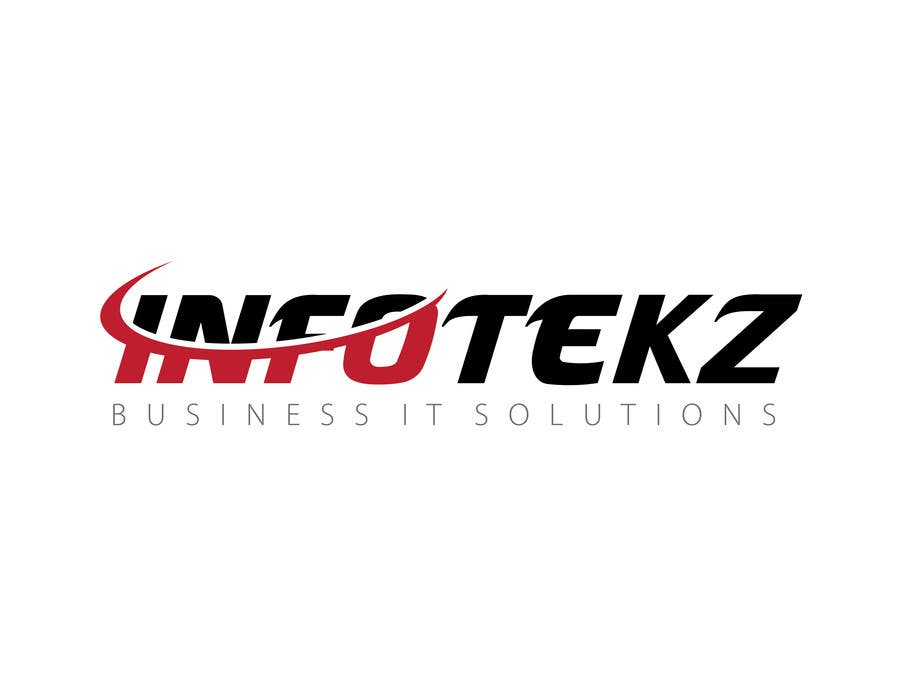 #120 for Logo Design for INFOTEKZ  (Please Try 3D Logo/Font) : Please see attached vector image by bestidea1