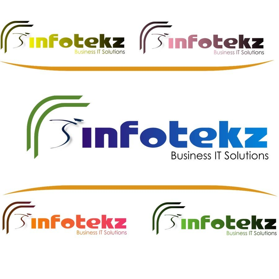 #295 for Logo Design for INFOTEKZ  (Please Try 3D Logo/Font) : Please see attached vector image by disignSoft