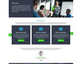 nº 33 pour Design a Website Mockup par atikul11