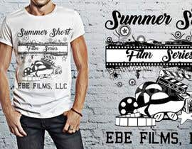 nº 46 pour Design a T-Shirt for EBE Films' Summer Film Series! par mycreativeworld1