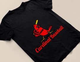 nº 13 pour Design a Cardinal Baseball Logo par mijan7