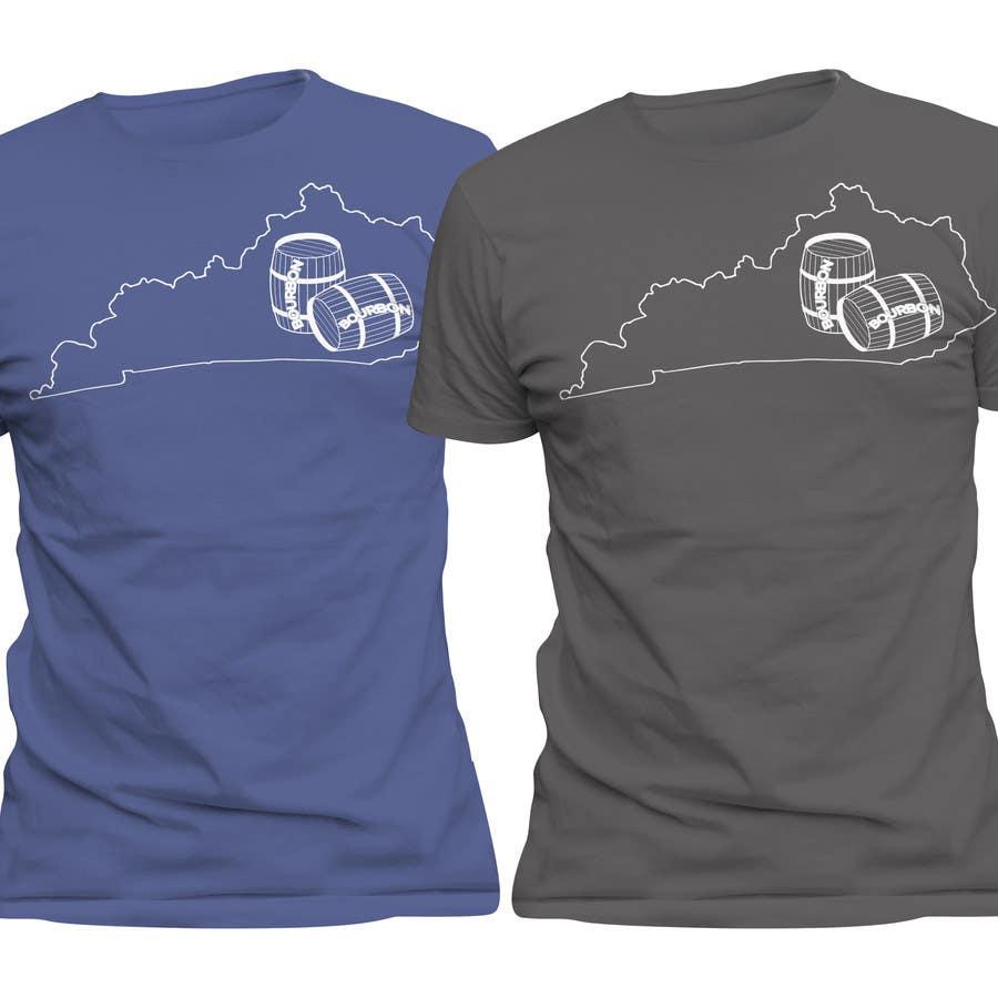Proposition n°53 du concours Design a T-Shirt - Bourbon State