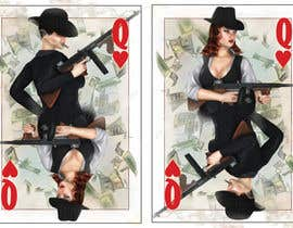 nº 3 pour Illustrate Queen of Hearts in maffia style par Gimio