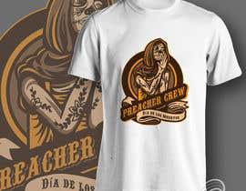 nº 54 pour Design a T-Shirt  with a Sugar skull logo style theme par aghits
