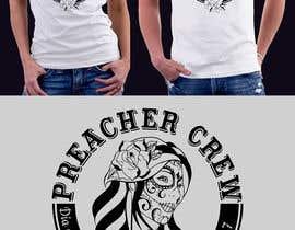 nº 55 pour Design a T-Shirt  with a Sugar skull logo style theme par cjaraque