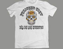 #13 para Design a T-Shirt  with a Sugar skull logo style theme de designforlink