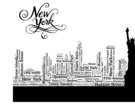nº 187 pour Design an Image using words for NYC par Beena111