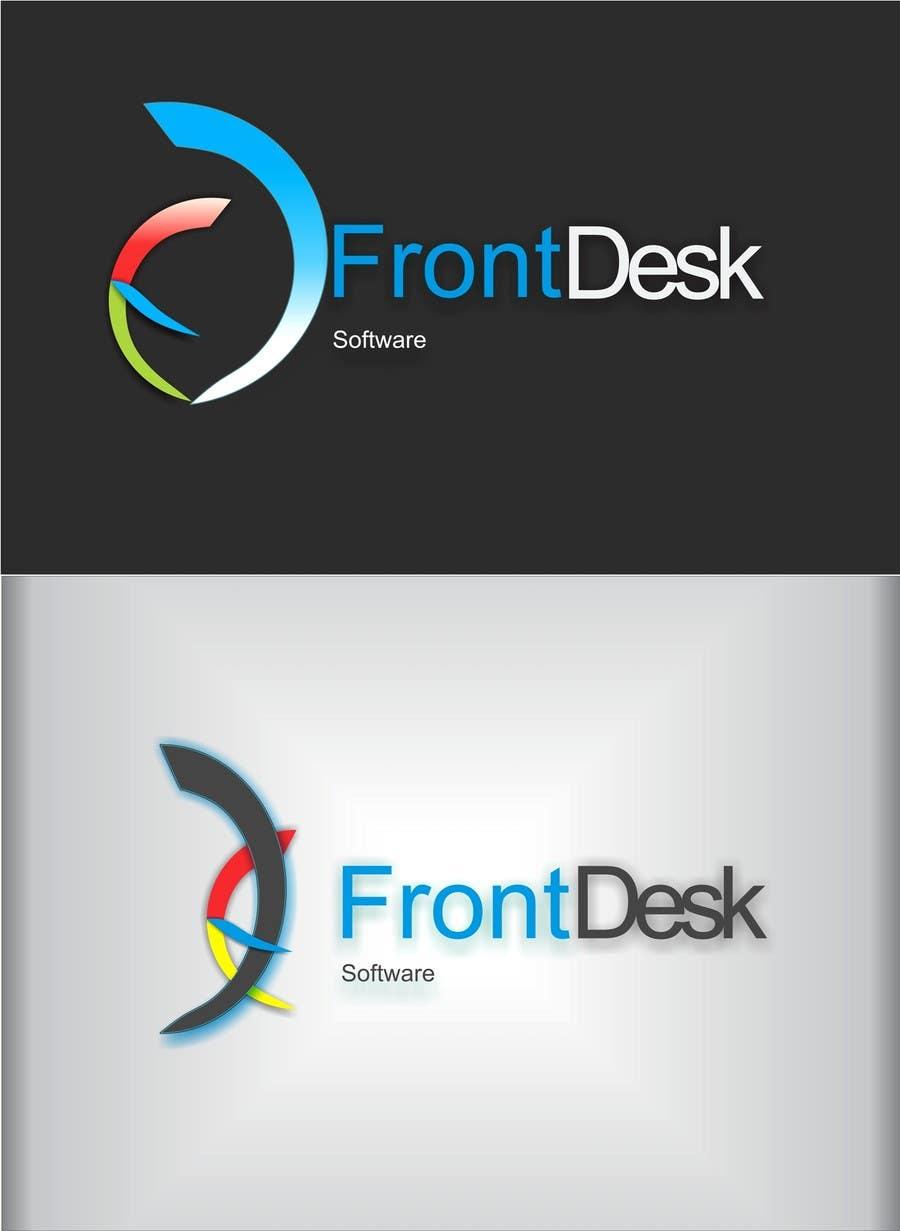 Inscrição nº 619 do Concurso para Logo Design for FrontDesk
