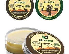 nº 25 pour Design two round labels for a natural product par imagencreativajp