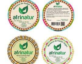 nº 33 pour Design two round labels for a natural product par imagencreativajp