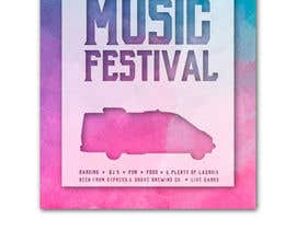 #64 for Design a Music Festival Wedding Poster by vitlitstudio