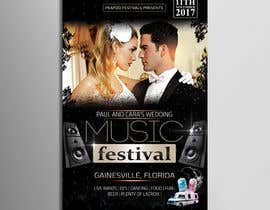 #77 for Design a Music Festival Wedding Poster by Pixelgallery