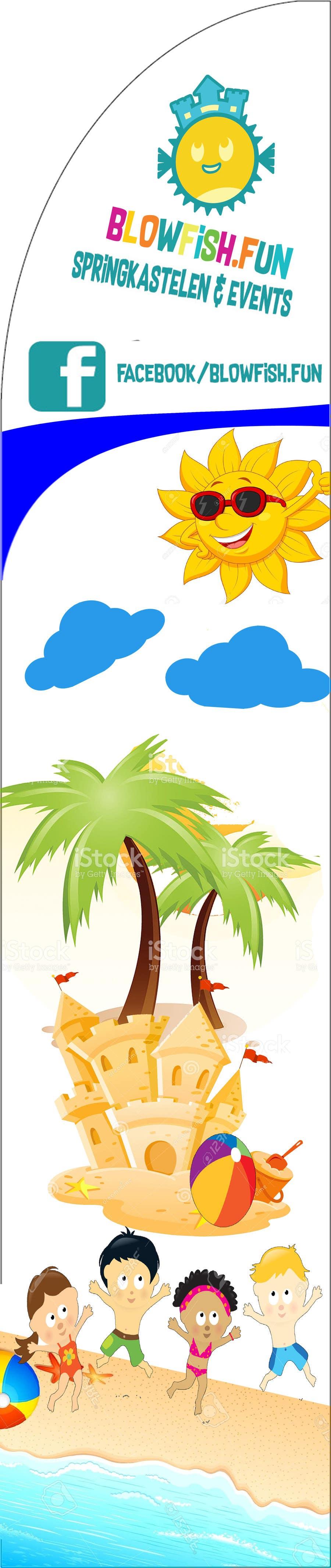 Proposition n°7 du concours Beachflag-design
