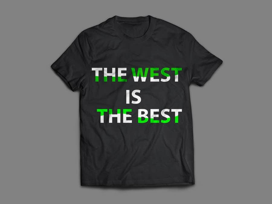 Proposition n°32 du concours west/best t-shirt