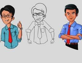 nº 15 pour 16 cartoon small images (Asia Indian Cartoon Style) par zephyr3art