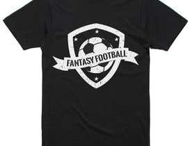 nº 19 pour Typography Tshirt Design for Fantasy Football par printzshoppe
