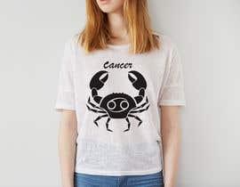 nº 20 pour Design a Typography T-Shirt for the Zodiac Cancer par saddam46