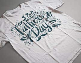 nº 29 pour Design a Typography T-Shirt for Father's Day par Ashrafulkotc