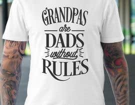 nº 23 pour Design a Typography T-Shirt for Father's Day par freelancerhunter