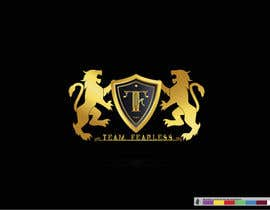 nº 35 pour Team Fearless Logo Design par Kemetism