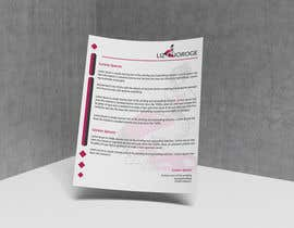 nº 62 pour Logo, Cloth design labels, Banner, Business Cards, Letter Head design for Liz Njoroge par samihaakram02