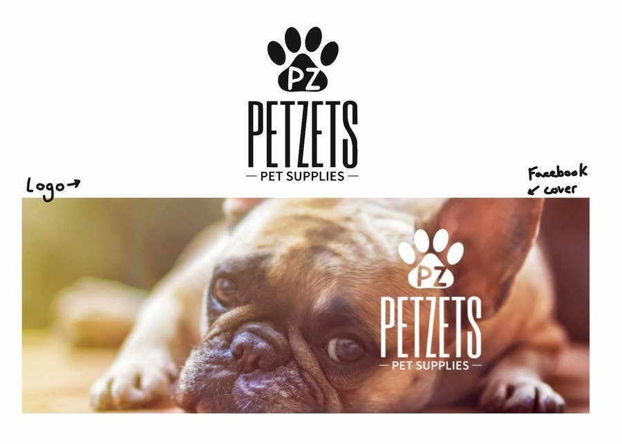 Proposition n°27 du concours pet supplier logo and facebook cover picture