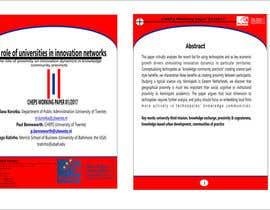 nº 5 pour Design a Word template par wawanwahyu92