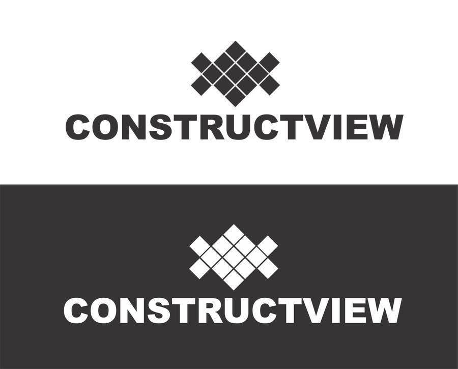 Proposition n°77 du concours ConstructView Logo