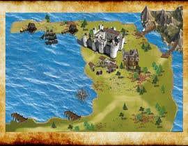 nº 4 pour Board map for board game prototype par ammarsya4