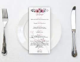 nº 14 pour Design a wedding menu par Mi3331