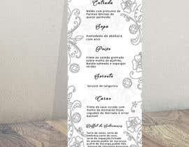 nº 11 pour Design a wedding menu par Reyad004